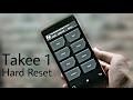 Takee 1 Hard Reset | Fix Forgot Screen Lock