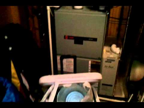 Trane Xe90 Blower Motor Noise Youtube