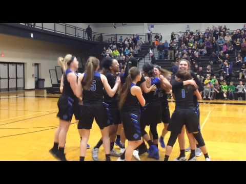 Grand Rapids Catholic Central celebrates third-straight regional title