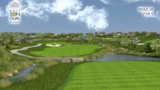 Hole 18 Golf Son Gual Mallorca