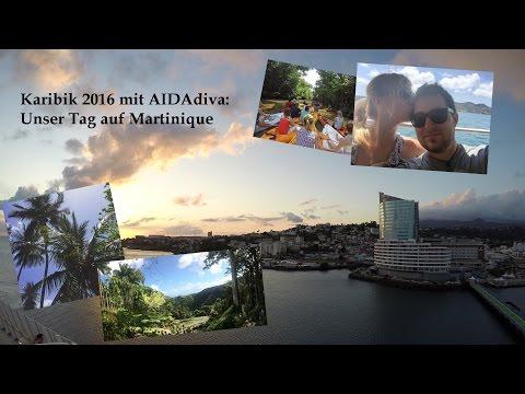 Martinique - Kajakfahrt & Jardin de Balata (AIDA Karibik 2016)