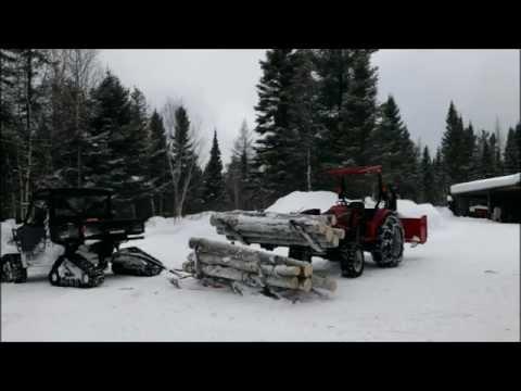 Polaris Ranger Xp 900 Working Hard...