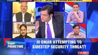 The Newshour Debate: Omar Abudllah  Oblivious - Full Debate (14th Oct 2014)