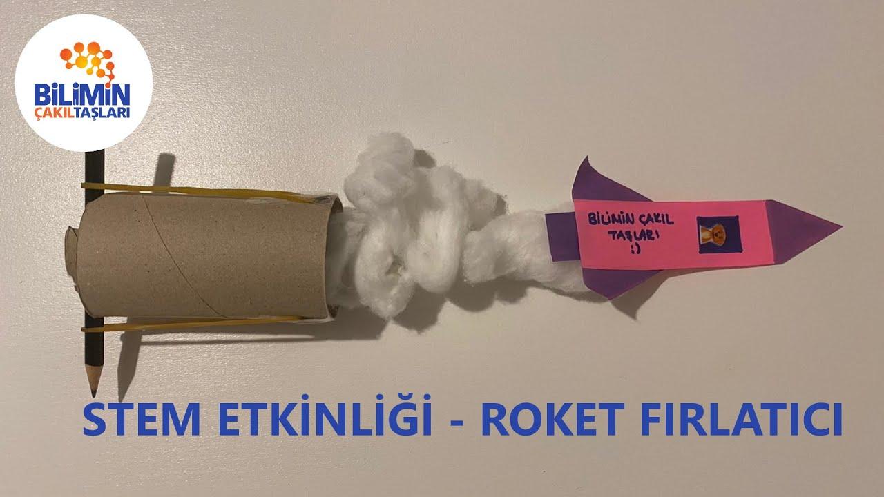 Okul Öncesi STEM Etkinliği - Roket Fırlatıcı Modeli Yapımı