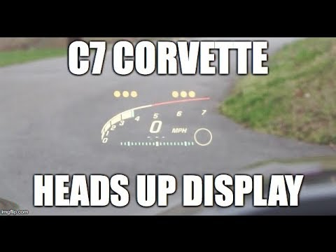 C7 Corvette: Heads Up Display Quick Tour and Review