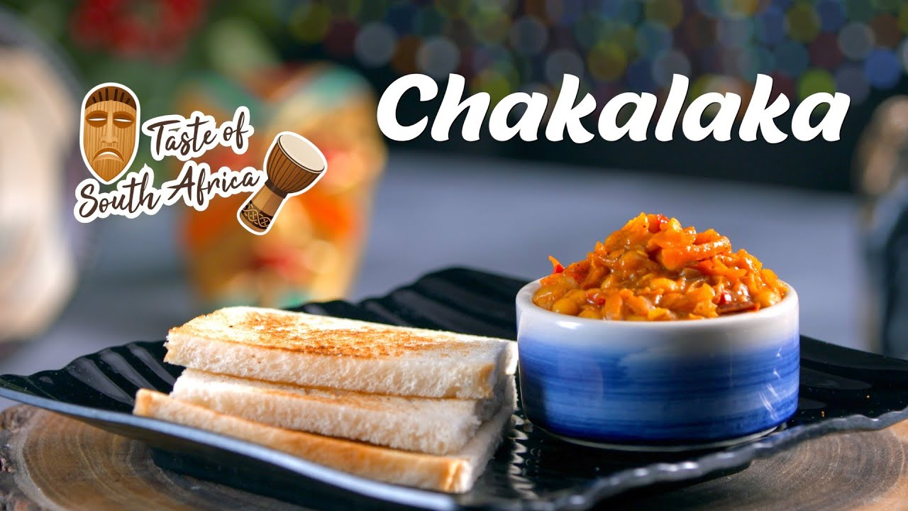 Homemade Chakalaka Recipe | South African Food Recipes | African Vegetarian Recipes By Megha Joshi