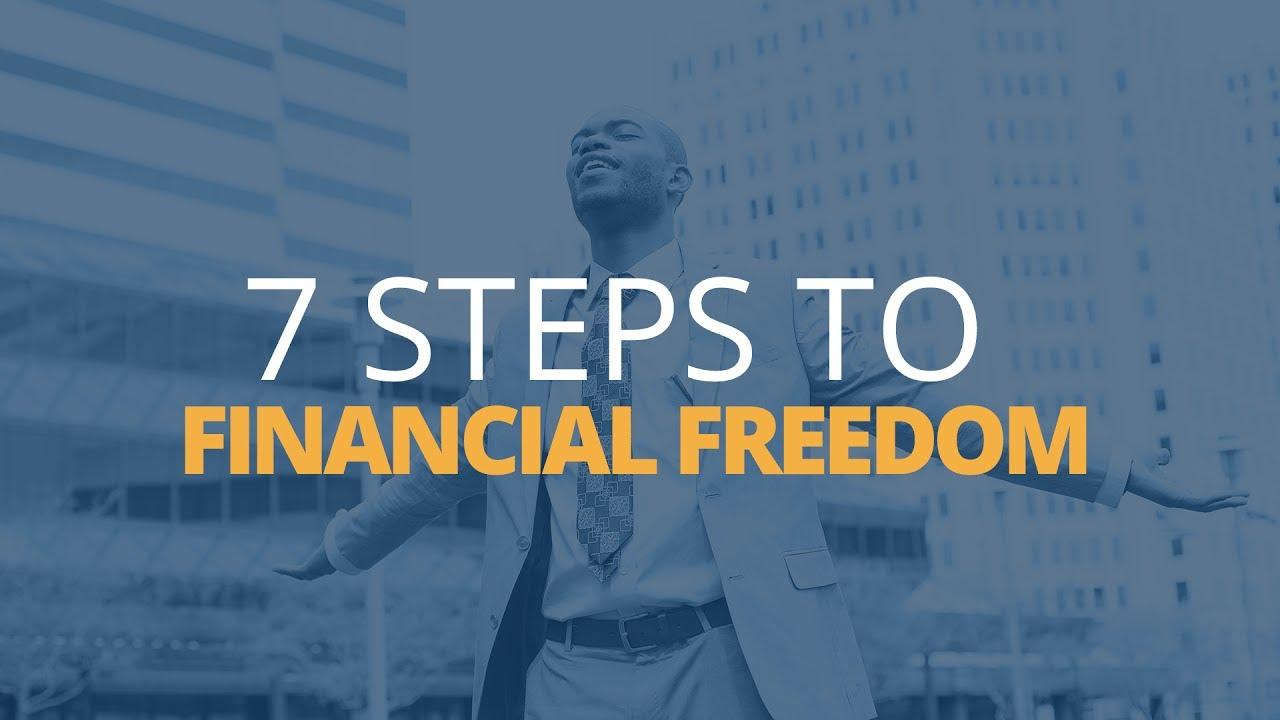 7 steps to achieve financial freedom brian tracy youtube