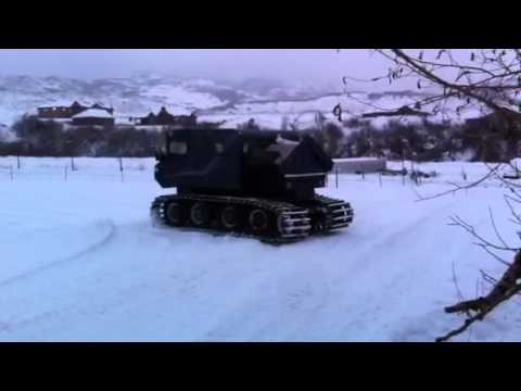 Thiokol 4t4 Trackmaster Snowcat