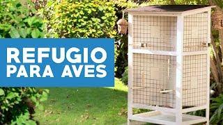 ¿Cómo hacer un refugio para aves?
