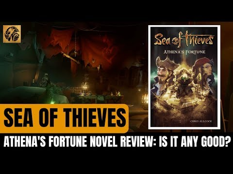NEW Sea of Thieves Novel: Athena's Fortune REVIEW [SPOILER FREE] #SeaofThieves