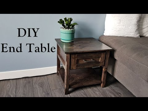 Classic End Table with drawer