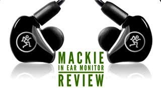 Mackie MP-240 in Ear Monitors Review