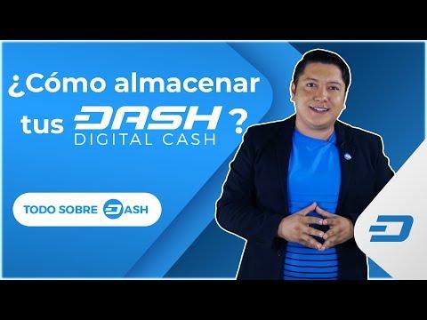 ¿Cómo Almacenar Tus Dash Digital Cash?
