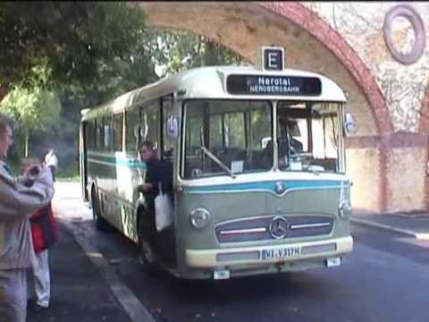 Mercedes Oldtimer Bus In Wiesbaden 27 08 2006 Youtube
