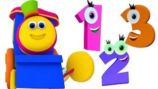 Боб Поезд номер песни | узнать 1 до 10 чисел | Детская песня | Bob Train | Bob Train Number Song