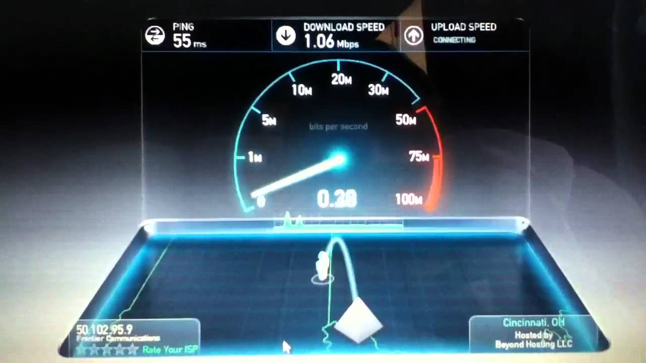 Frontier Speed Test >> Frontier Wi Fi Speedtest Youtube