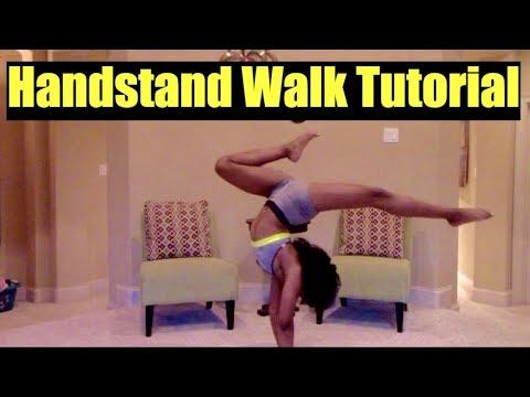 How To Walk In A Handstand (Handstand Walk Tutorial)