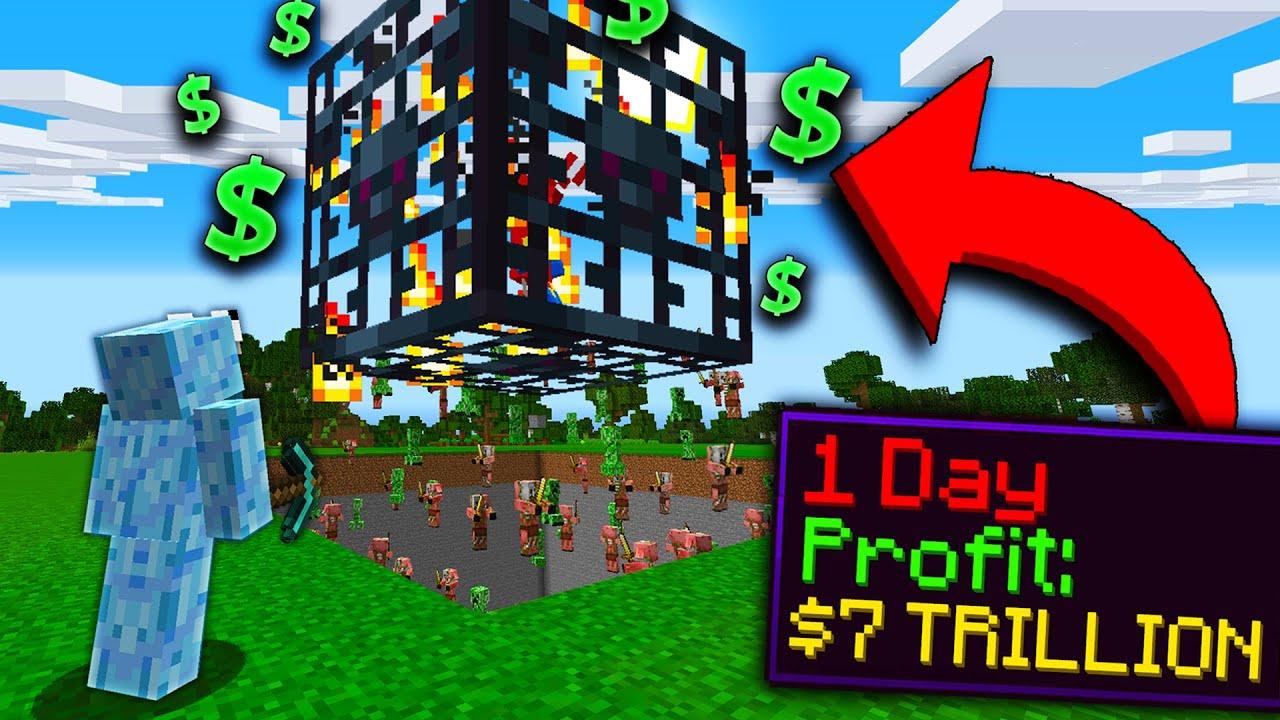 WORLD'S MOST OP SPAWNER! | Minecraft Skyblock