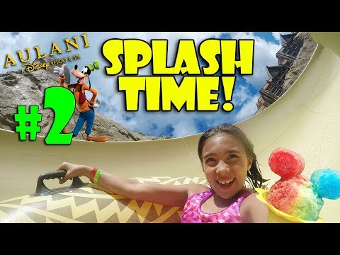 WATERSLIDES, SURFING & HAWAIIAN SHAVED ICE!!! Fun at the Disney Aulani Resort! #2