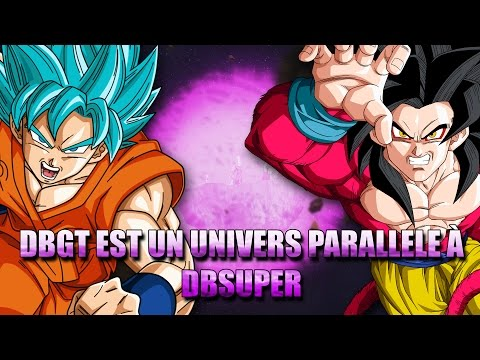 Dragon Ball GT est un univers parallèle à DBSUPER ! - Mini Theory #1