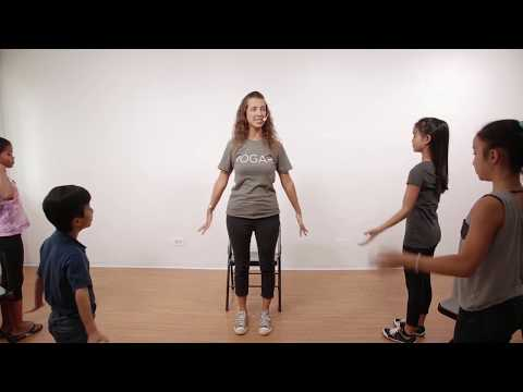 Lesson 3 Focus: 10 Minute Chair Yoga Class for Kids | Ages 3-12