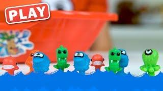 КУКУТИКИ PLAY - Морские приключения Прилипалы - Поиграйка с Егором - Игрушки