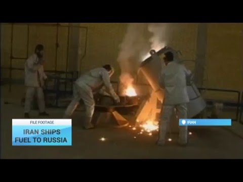 Iran Ships Fuel to Russia: Low-enriched uranium to be delivered in Russia
