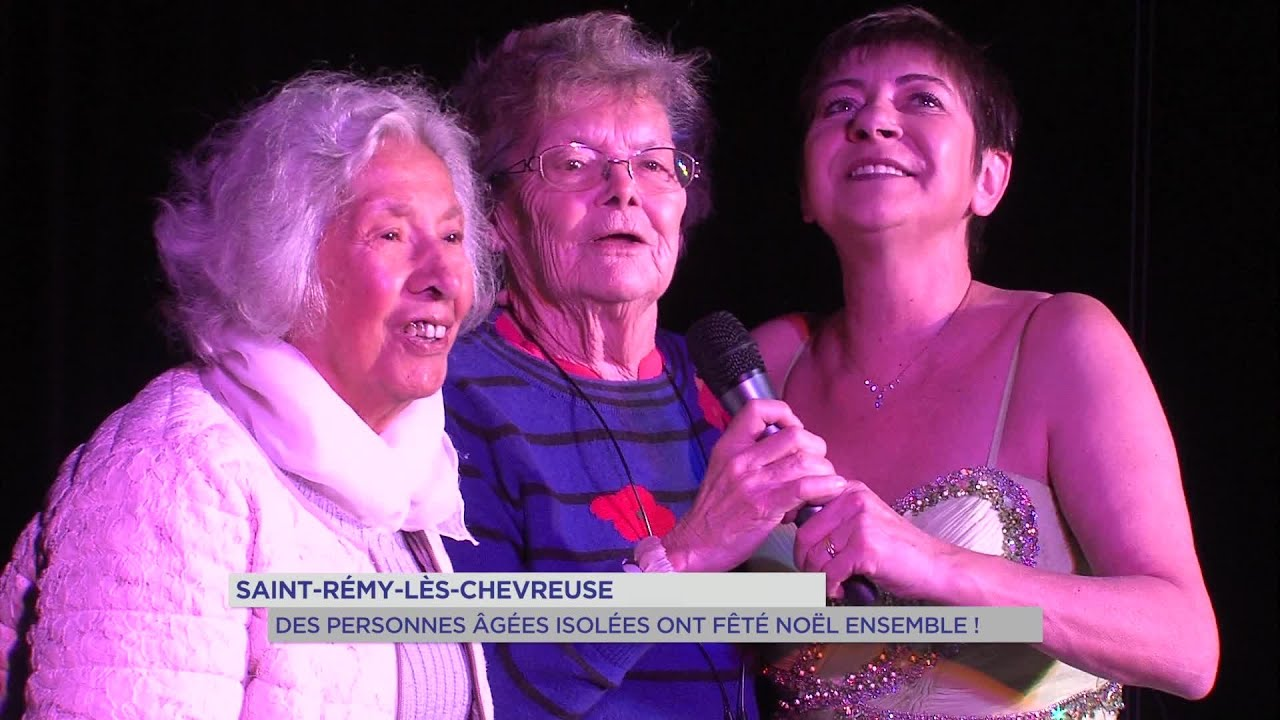 Yvelines | Saint-Remy-lès-Chevreuse : des personnes âgées isolées ont fêté Noël ensemble !