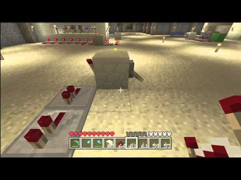 Minecraft Redstone Continuous Loop Switch With Lever