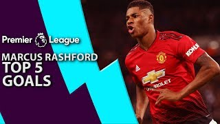 Marcus Rashford's top 5 goals for Manchester United | Premier League | NBC Sports