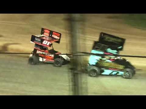 Delta Speedway 8/31/19 Jr Sprint Main- Ty
