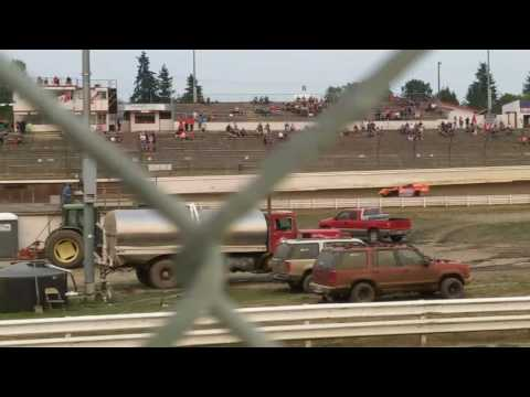 Mel Decker Racing 8/5/17 Skagit Speedway Modified Heat #1
