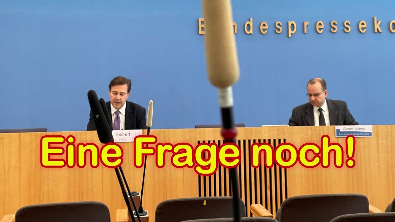 """Merkels Sprecher: """"Wir haben eine andere, eine neue Pandemie"""" –mein Wortgeplänkel mit Sei"""