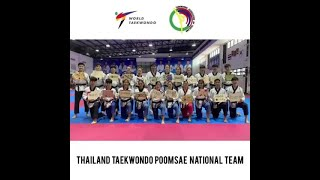 Taekwondo Hope Relay by Thailand Taekwondo Poomsae National Team