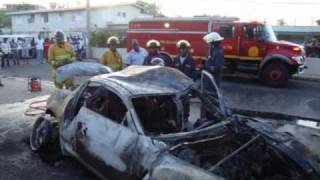 car accident kill 4 in Mandeville JA