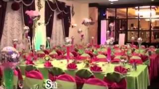 Свадьба в клубнично-салатовом