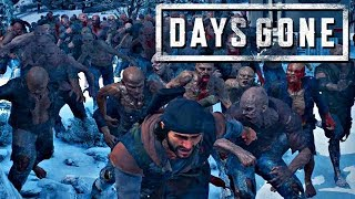 Days Gone Gameplay German #34 - Harter Kampf mit Zombie Horde