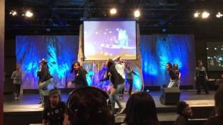 New Direction Youth -work it out by Tye Tribett