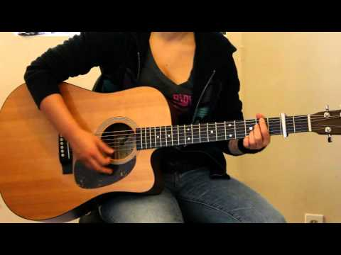 "How to play ""Bent"" by Matchbox 20/Rob Thomas on guitar (live acoustic version) - Jen Trani"
