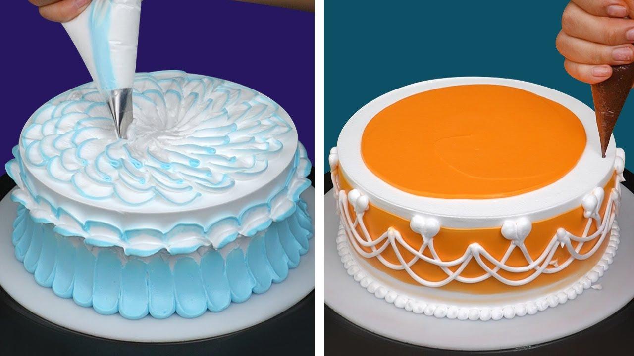 Quick & Easy Cake Decorating Tutorials Compilation   Most Satisfying Cake Decorating Ideas