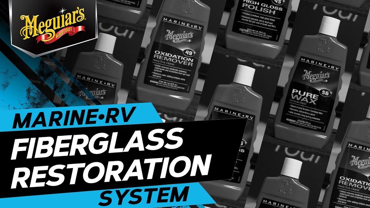 Meguiar's Fiberglass Restoration System – Premium Marine Products To  Restore Shine