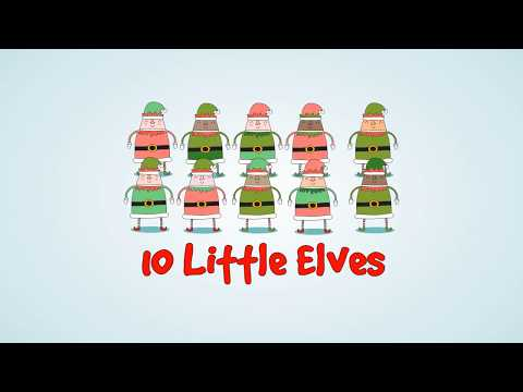 10 Little Elves  A CountingNumbers Christmas Childrens Story kids podcast