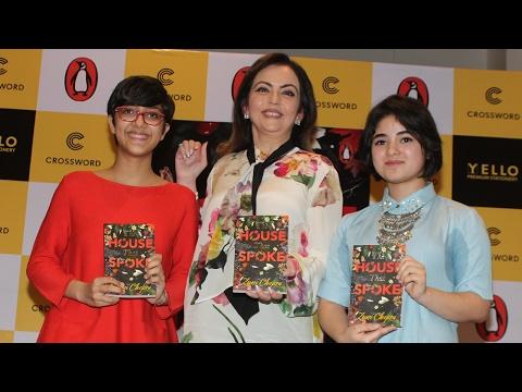 CUTE Dangal Girl Zaira Wasim At A Book Launch - The House That Spoke By Zuni Chopra