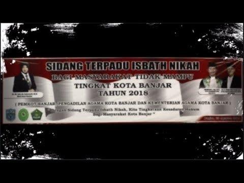 TRAILER SIDANG ISBAT NIKAH TERPADU 2018