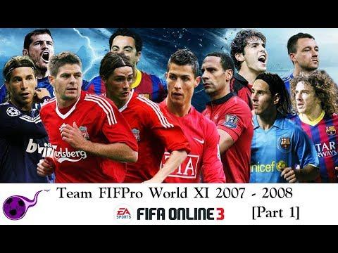 [Phần 1] Team FIFA FIFPro World XI 2007 - 2008 [FO3]