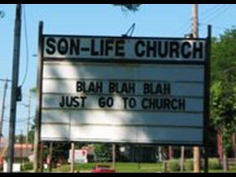 World's Funniest Church Signs