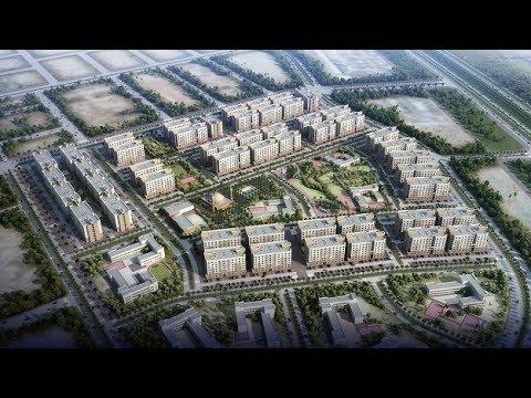 Telal Algoroob - Dammam - Residential Masterplan CGI Flythrough