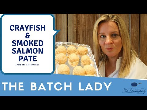 Smoked Salmon Pate With Crayfish, Easy And Freezable Made In 5 Minutes