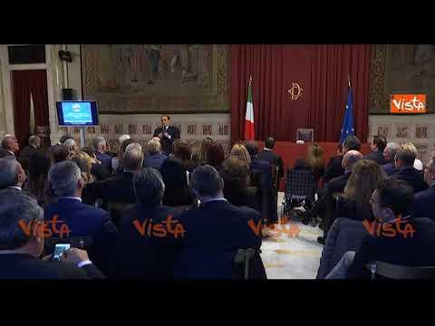 """Berlusconi: """"Abbiamo impedito a M5S di avere la maggioranza, obiettivo raggiunto"""""""