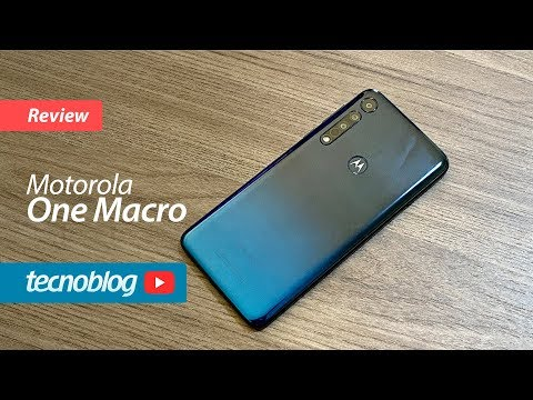 Motorola One Macro - Review Tecnoblog